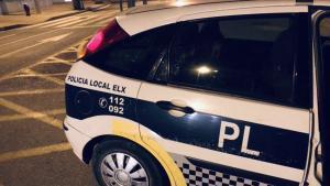 Una patrulla de laPolicía Local de Elche.