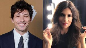 Andrés Velencoso y su nueva novia, la modelo y presentadora Paula Gómez.