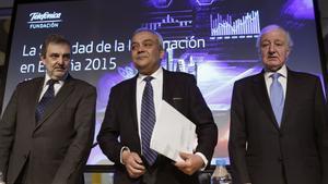 El ex secretario de estado de telecomunicaciones, Víctor Calvo Sotelo en el 2016 (i).