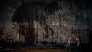 Una escena de 'El poema deGuilgamesh', montaje dirigido por Oriol Broggi, estrenado en el Teatre Grec.