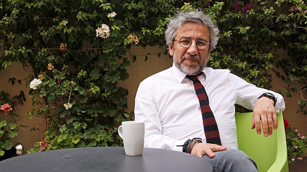 Entrevista con el periodista turco exiliado en Alemania Can Dündar.