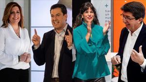 Andalusia arrenca unes eleccions que s'entreveuen sense canvis