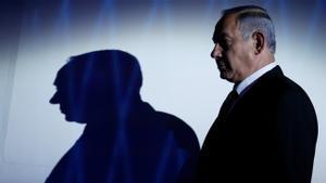 FILE PHOTO: Israeli Prime Minister Benjamin Netanyahu is seen during the the 2016 Genesis Prize award-ceremony in Jerusalem