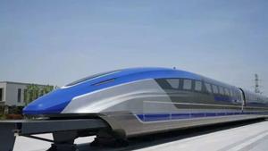 La Xina presenta un nou tren de levitació magnètica que arriba als 600 km/h