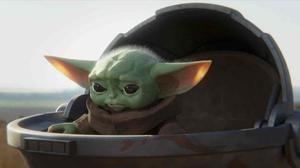El personaje Baby Yoda de la serie de Disney+ 'The Mandalorian'.