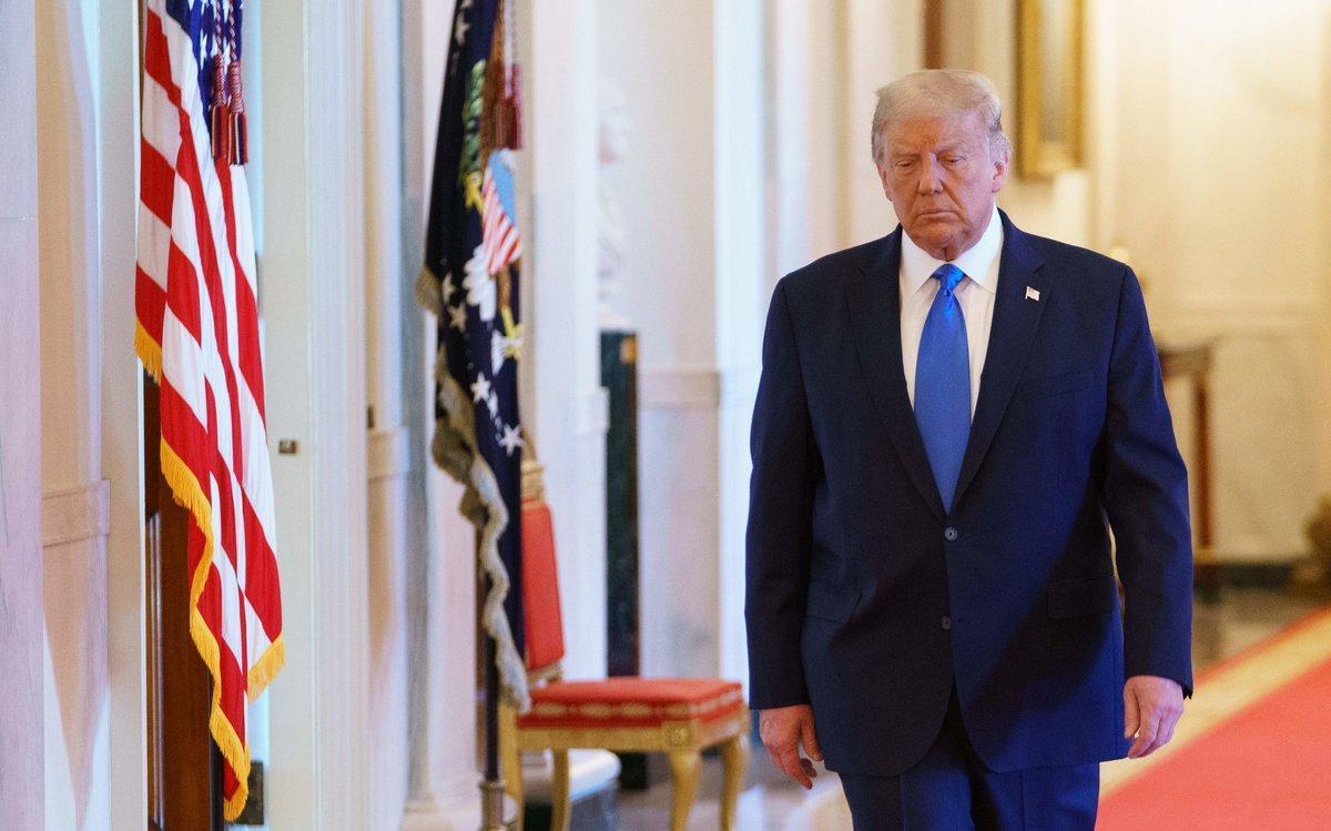 Donald Trump, este miércoles en la Casa Blanca.