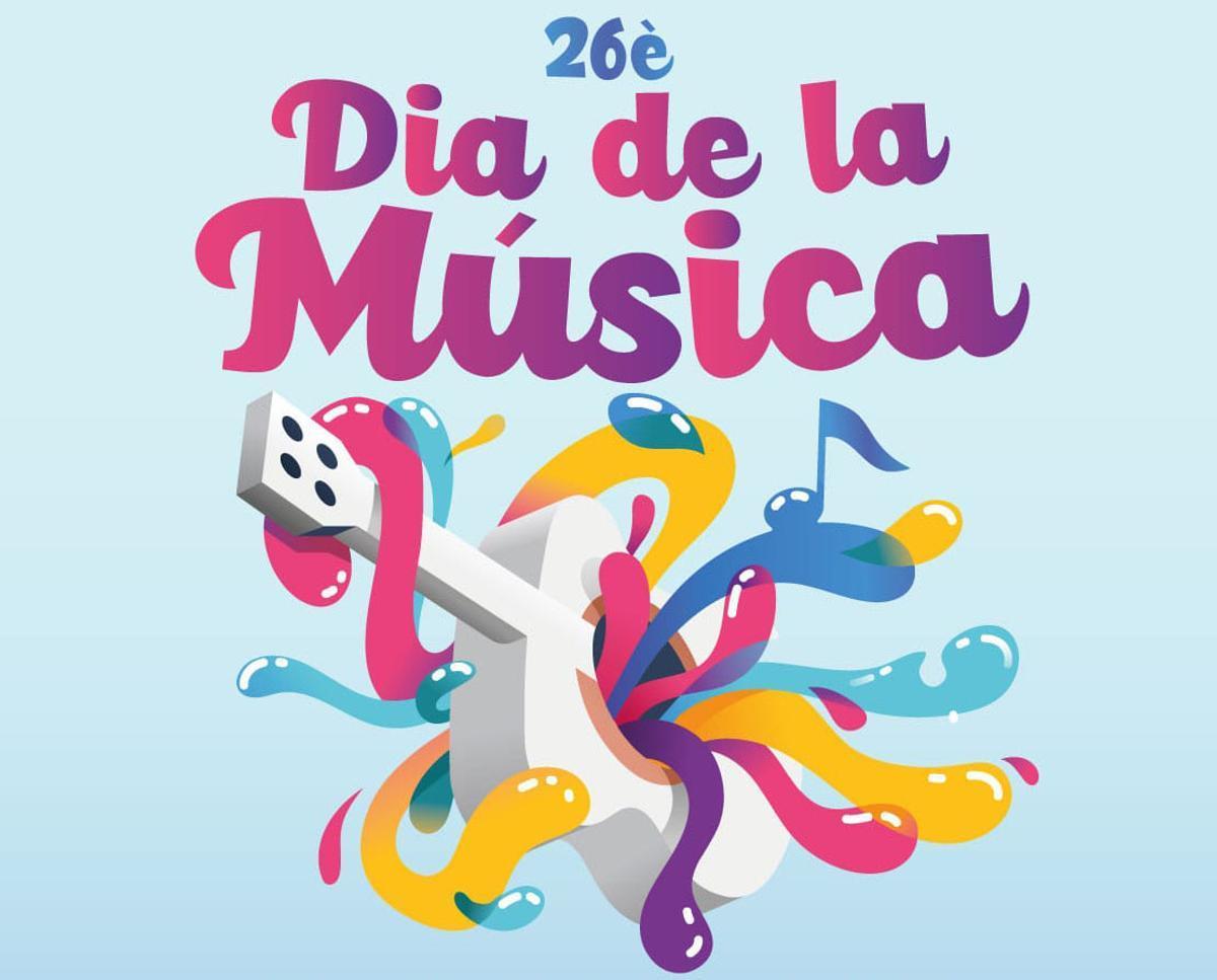 Cartel de la Fiesta de la Música de Gavà