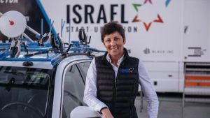 Cherie Pridham, directora deportiva del conjunto de Israel.