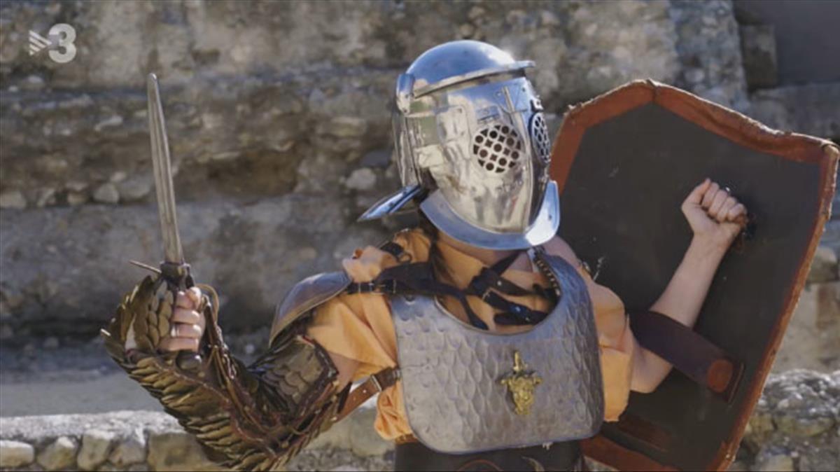 Una fiera gladiadora en Tarraco (TV-3).