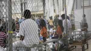 Centro de detención de migrantes den los Estadpos Unidos.