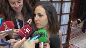 Ione Belarra (Unidas Podemos): Lo que tiene que hacer el PSOE es moverse.