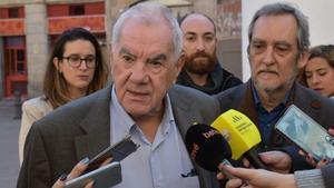 26/02/2020 El presidente de ERC en el Ayuntamiento de Barcelona, Ernest Maragall