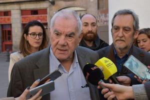 El presidente de ERC en el Ayuntamiento de Barcelona, Ernest Maragall.