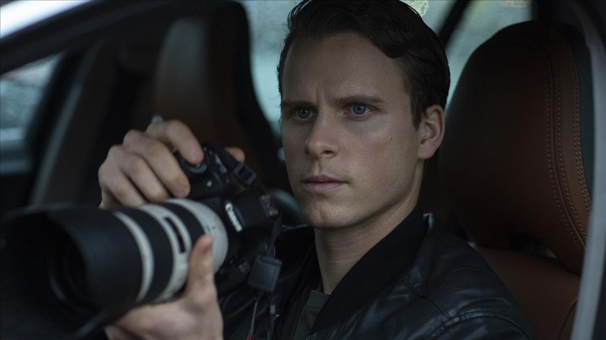 Adam Pålsson en 'El joven Wallander'.