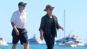 Bono y Bill Gates en Saint Tropez.