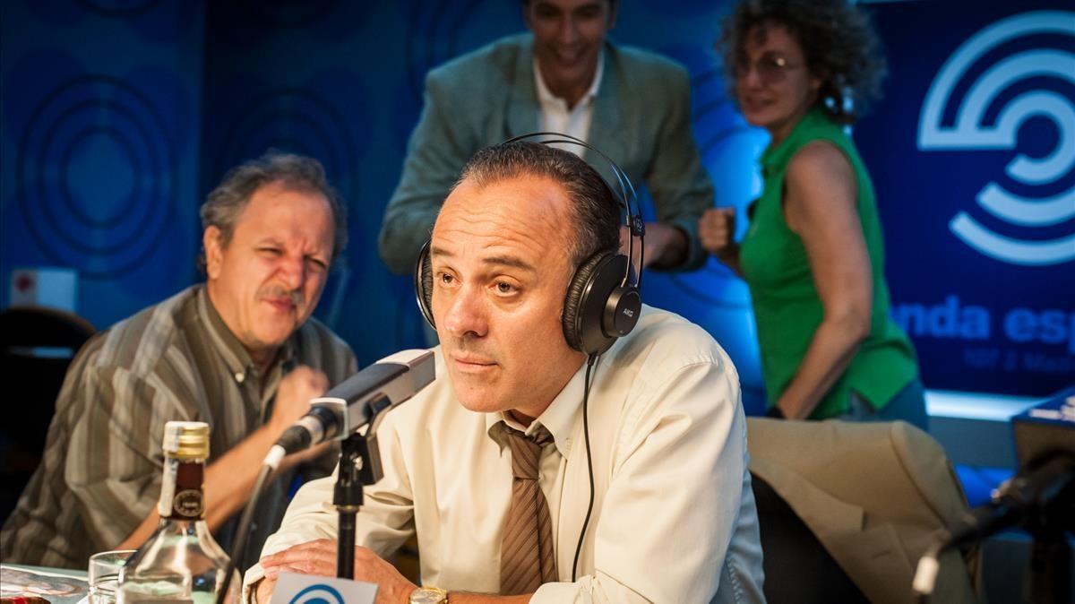 El actor Javier Gutiérrez, en una imagen de ''Reyes de la noche'