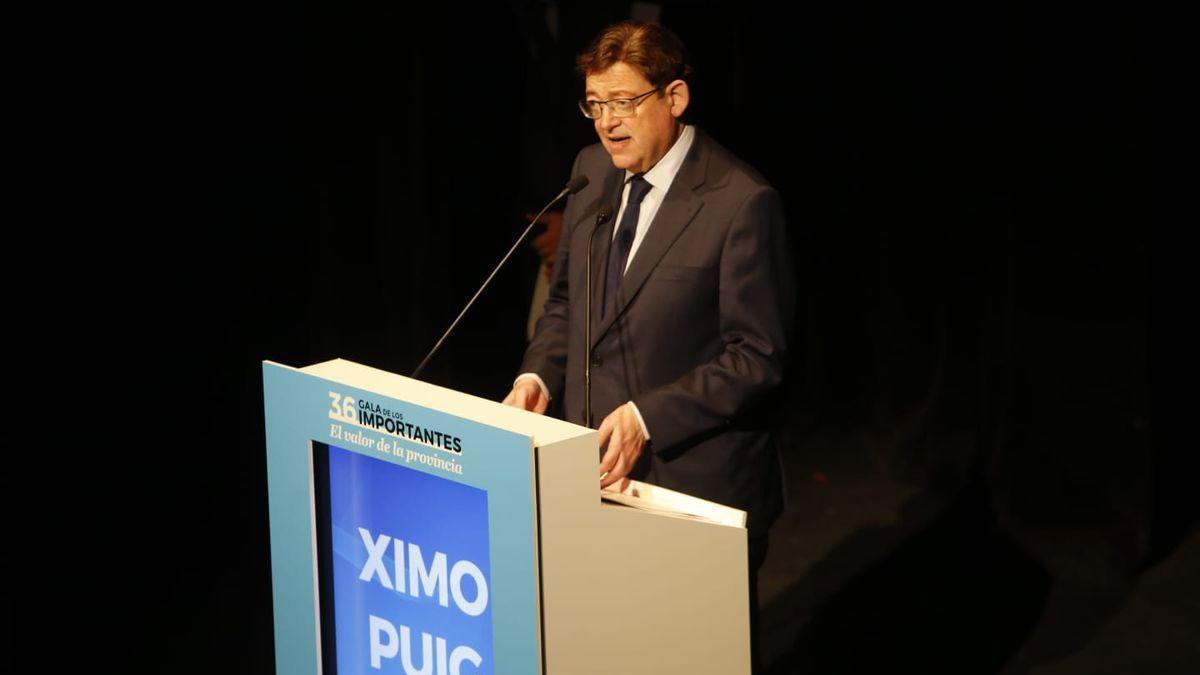 Puig carrega contra el «procés invisible» de Madrid basat en el «dúmping fiscal»