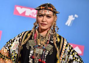 Madonna, en los MTV Video Music Awards, en Nueva York, en el 2018.