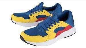Zapatillas de la línea 'low cost' de Lidl.