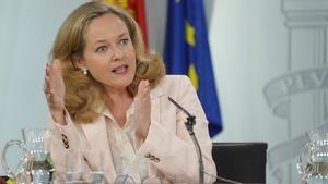 Nadia Calviño se retira de la carrera por dirigir el FMI.