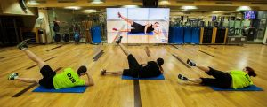 Imagen de un gimnasio del grupo Dir.