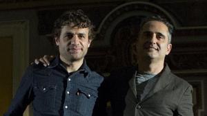 Luciano Supervielle y Jorge Drexler.