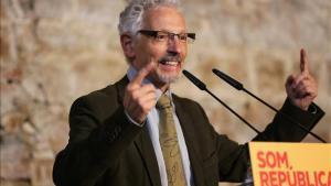 El exsenador de ERC, Santi Vidal.