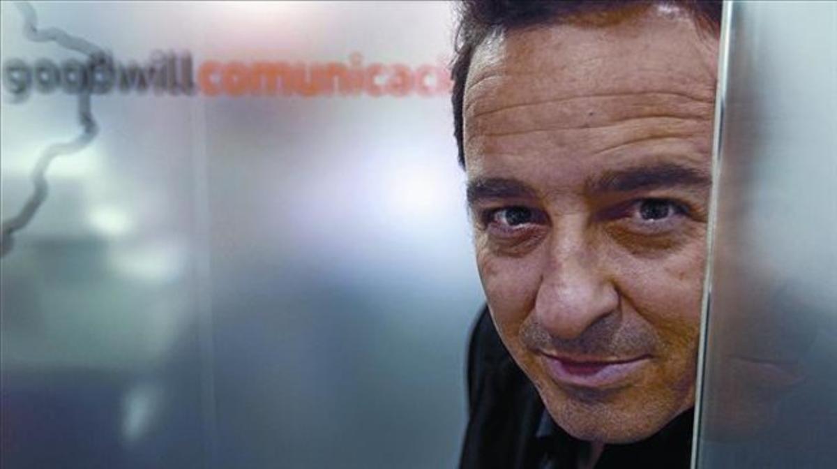 Pablo Herreros, el periodista y bloguero que inició la protesta ciudadana contra los contenidos de 'La noria'.
