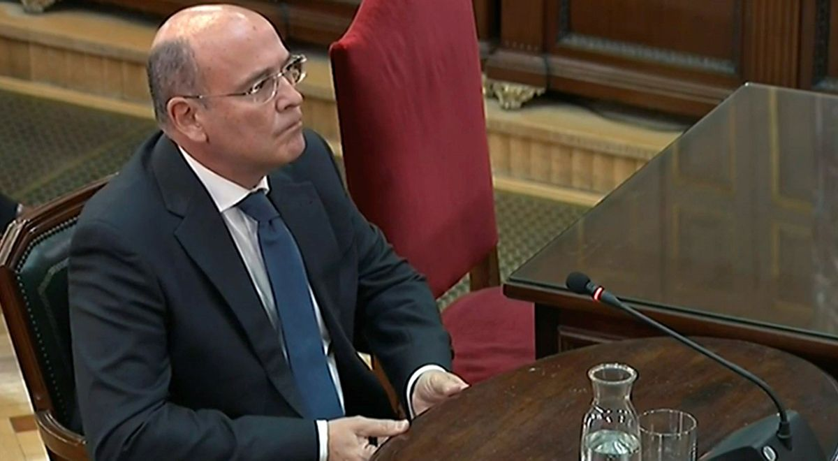 Diego Perez de los Cobos durante su testificación.
