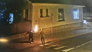 Dos cócteles molotov contra la policía local de Matadepera