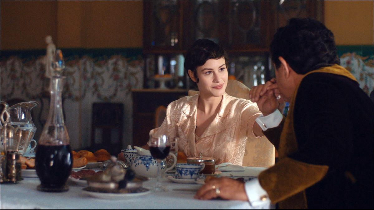 La actriz Aida Folch, en 'Vida privada', de TV-3.