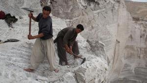 Yacimiento de litio en Afganistán.