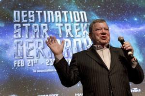 William Shatner, el capitán Kirk de 'Star Trek'.