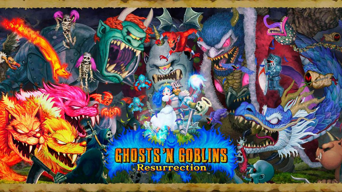 Ghosts'n Goblins Resurrection y Capcom Arcade Stadium anuncian lanzamiento para Switch