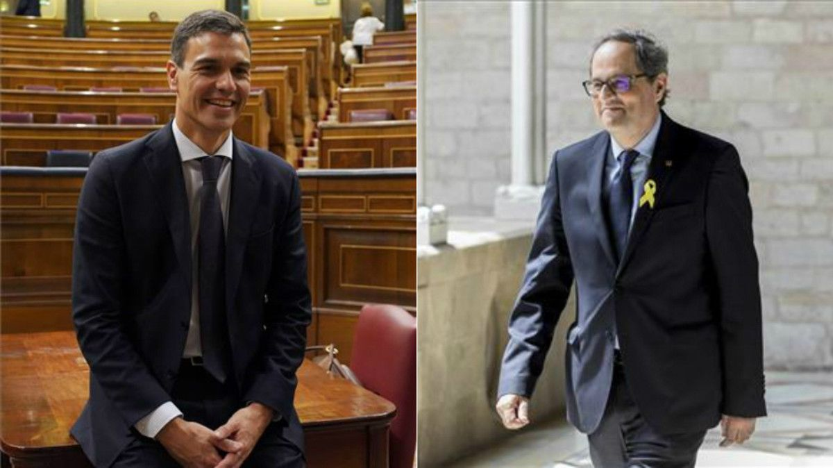 Sánchez i Torra es reuniran el 9 de juliol a la Moncloa