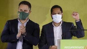 El candidato de Vox a la Generalitat, Ignacio Garriga