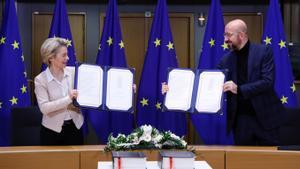 La UE i el Regne Unit firmaran aquest dimecres el seu acord postbrexit