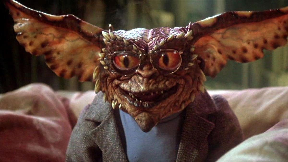 Uno de los monstruos que dan nombre al clásico de 1984.