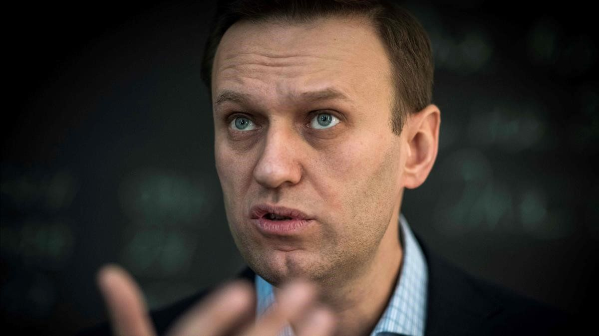 El opositor ruso Alekséi Navalni, en una imagen de archivo.