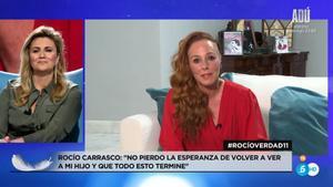 Carlota Corredera entrevista esta noche a Rocío Carrasco tras el final de su docuserie en Telecinco