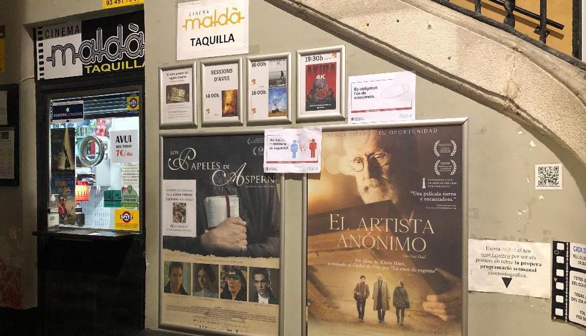 Cinema Maldà: el cine sense fi