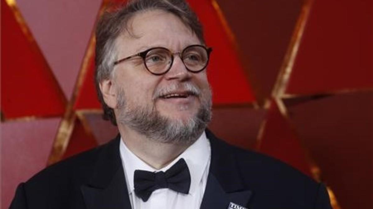Guillermo del Toro, ganador del Oscar a mejor director