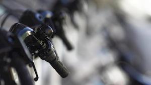 Imagen del servicio de bicicletas del Ayuntamiento de Madrid, Bicimad.
