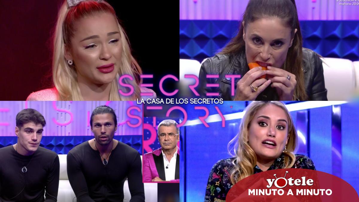 Algunos de los momentazos más destacados de la gala 6 de 'Secret Story'