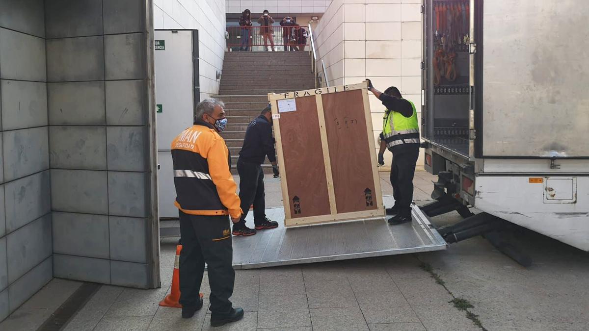"""""""Una roda sense final de litigis al Museu de Lleida"""""""