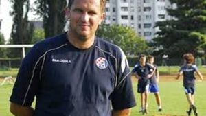 Cvitanovic, técnico del Dinamo de Zagreb.