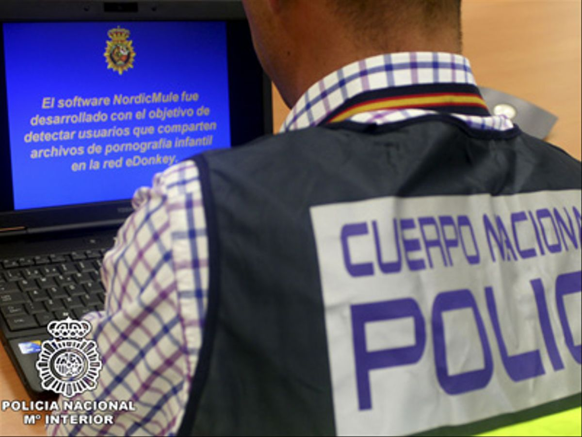 Doce detenidos por distribuir material de abuso sexual infantil en internet