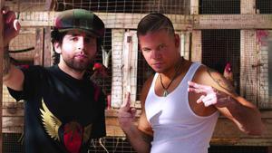 Una imagen promocional de Calle 13.