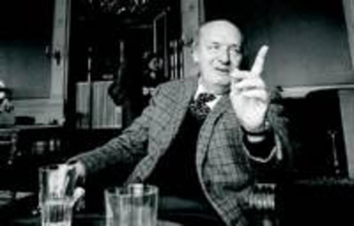 El escritor Vladimir Nabokov.