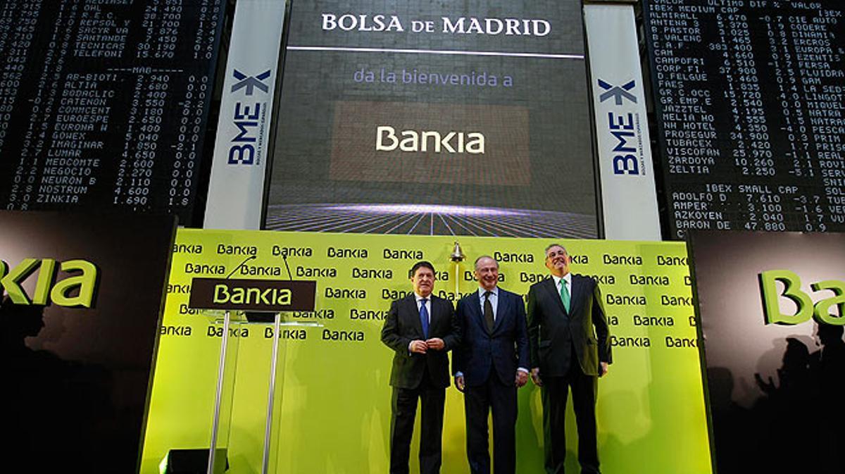 La inspección del Banco de España alertó que la salida a bolsa de Bankia iba a ser un desastre.